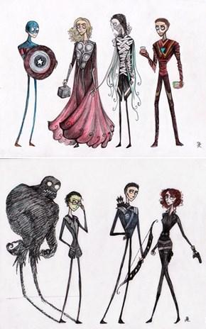 Tim Burton's Avengers