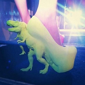 T-Rex High Heels of the Day