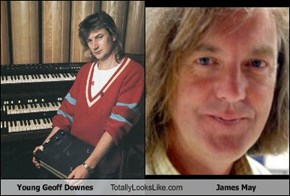 Young Geoff Downes Totally Looks Like James May