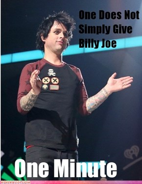 Billy Joe One Minute