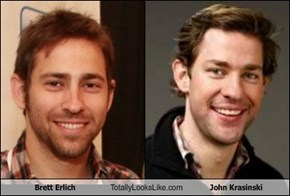 Brett Erlich Totally Looks Like John Krasinski