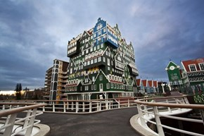 A Colorful Amsterdam Hotel