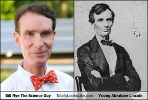 Bill Nye The Science Guy Totally Looks Like Young Abraham Lincoln