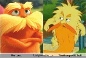 The Lorax Totally Looks Like The Grumpy Old Troll