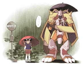 Digifriday: My Neighbor Wargreymon