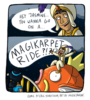 A Magikarppet Ride!