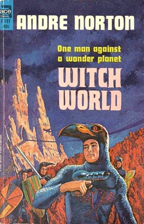 WTF Sci-Fi Book Covers: Witch World