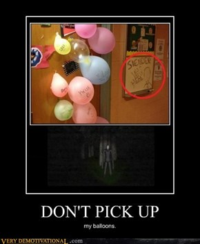 DON'T PICK UP