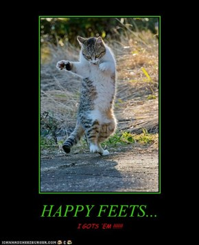 HAPPY FEETS...
