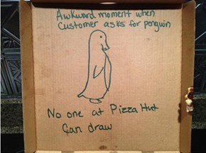 SAP: Socially Awkward Pizza