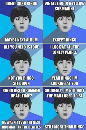 No Love for Ringo