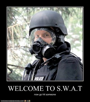 WELCOME TO S.W.A.T