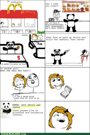 Panda rage