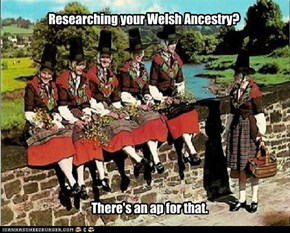 If you are Welsh or interested in Genealogy, this is hillarious. Honest.
