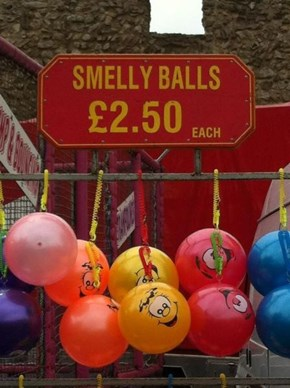 Daddy! Daddy! Can I Have Smelly Balls?