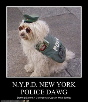 N.Y.P.D. NEW YORK POLICE DAWG