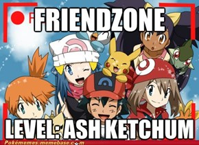 Ash Can't Catch Anything