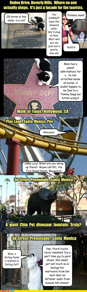 Road Blips, an eclectic view of California, Pt 2 where Lucy LuLu meets Johnny Depp, kinda, sorta.