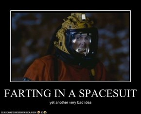 FARTING IN A SPACESUIT