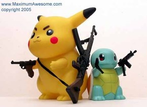 Pokemon-Inspired Pentagon Weapon of the Day