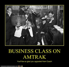 BUSINESS CLASS ON AMTRAK