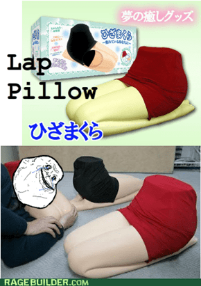 Lap Pillow from Japan