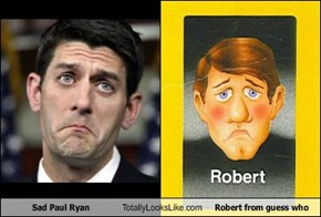 Sad Paul Ryan Totally Looks Like Robert from guess who