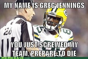 My name is Greg Jennings