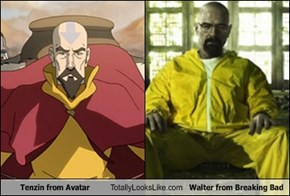 Tenzin from Avatar Totally Looks Like Walter from Breaking Bad
