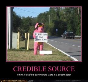 CREDIBLE SOURCE