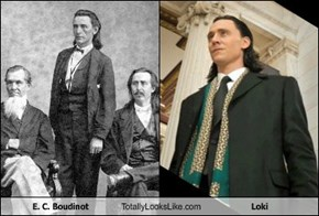 E. C. Boudinot Totally Looks Like Loki