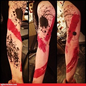You Spilled the Ink Everywhere!