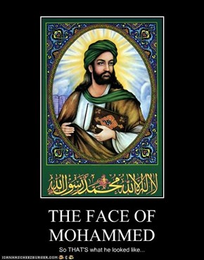THE FACE OF MOHAMMED