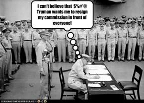 Douglas MacArthur's Retirement Party