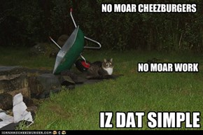 NO MOAR CHEEZBURGERS