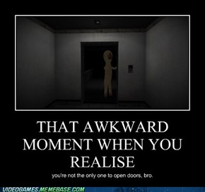 SCP: Containment Breach: it's all an awkward moment