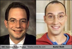 RNC Chairman Reince Priebus Totally Looks Like Buster Bluth