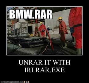 UNRAR IT WITH IRLRAR.EXE