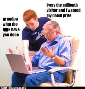 Grandparents... Ask Your Childrens' Permission Before Using the Internet