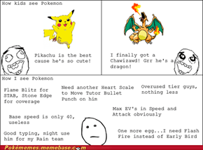 Pokemon is For Kids?