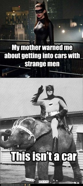 Silly Catwoman!