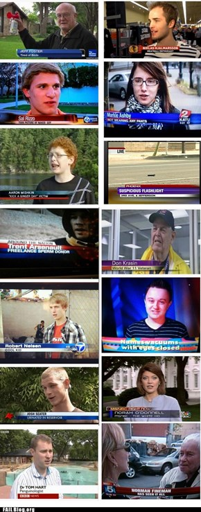 TV Reporting FAILs