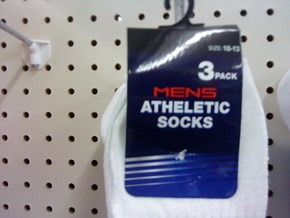 ATHELETIC SOCKS