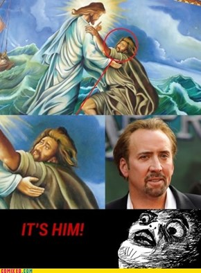 Nicolas Cage Is a Vampire... Who's Meet Jesus