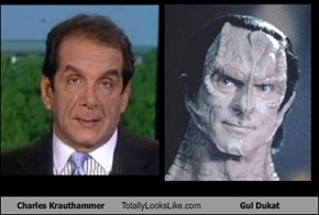 Charles Krauthammer Totally Looks Like Gul Dukat