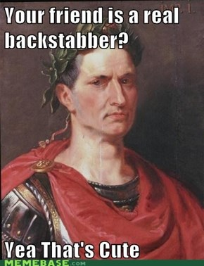Insensitive Caesar