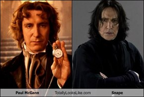 Paul McGann Totally Looks Like Snape
