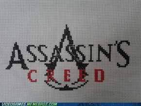 Assassin's Cross-stitch