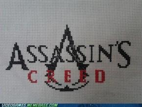 Assassin's Cross-stitch
