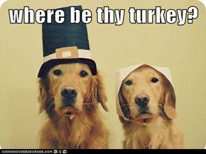 where be thy turkey?